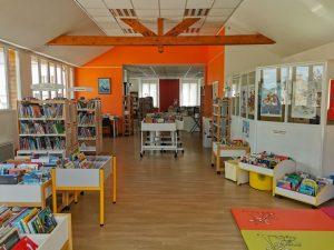 Bibliotheque municipale de Sainte-Hélène